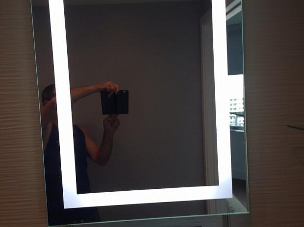 Special fog-free mirror