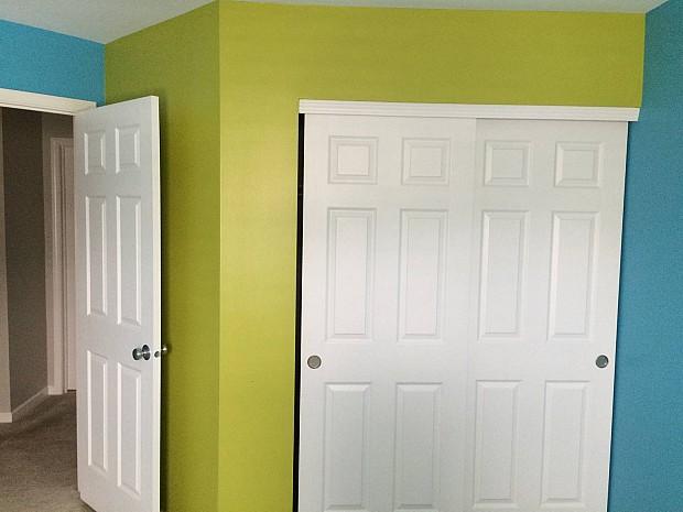 Perfect paint color scheme for a little boy