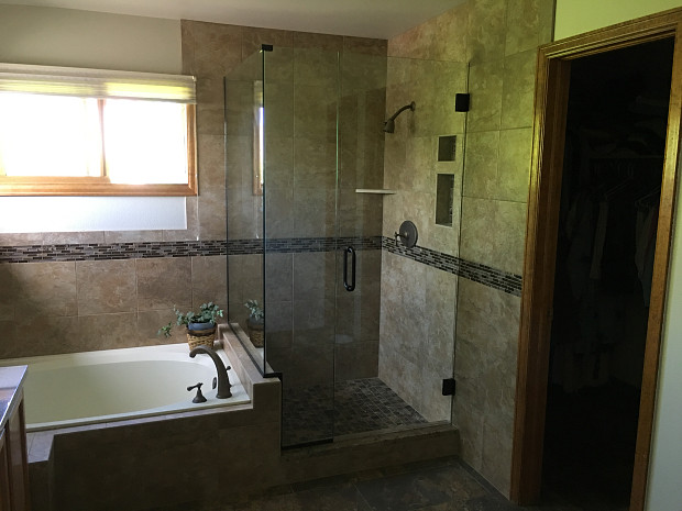 Bath and shower tile