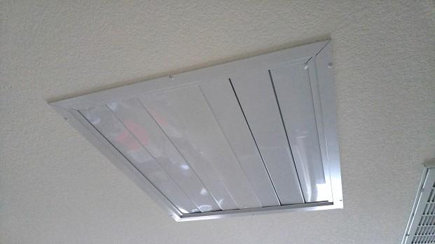 Whole house fan vent
