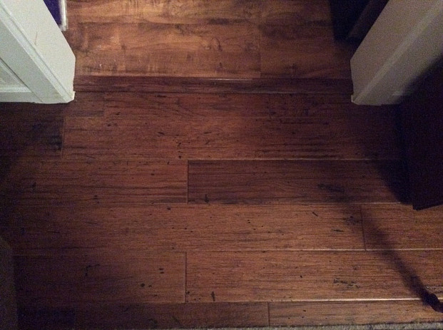 New Vinyl and Hardwood Flooring to Replace Water Damaged Floors ...