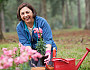 Photo of a mom gardening by kali9/istockphoto.com.