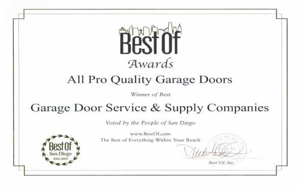 All Pro Quality Garage Doors Networx