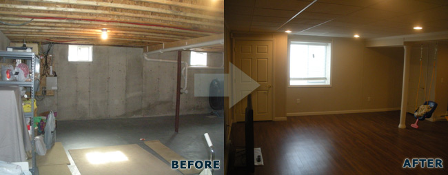 Precision remodeling contractors networx for Crawl space conversion to basement cost