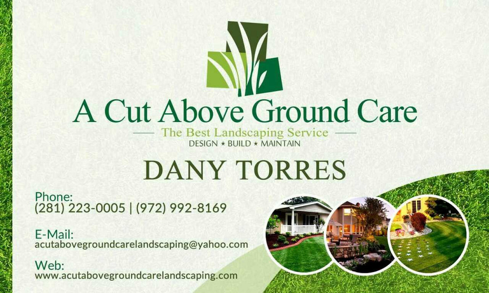 A cut above ground care is a company the specialize on lawn maintenance  landscape design hardscape tree trimming and removal Sprinkle installation  and ... - A Cut Above Ground Care Landscaping - Networx