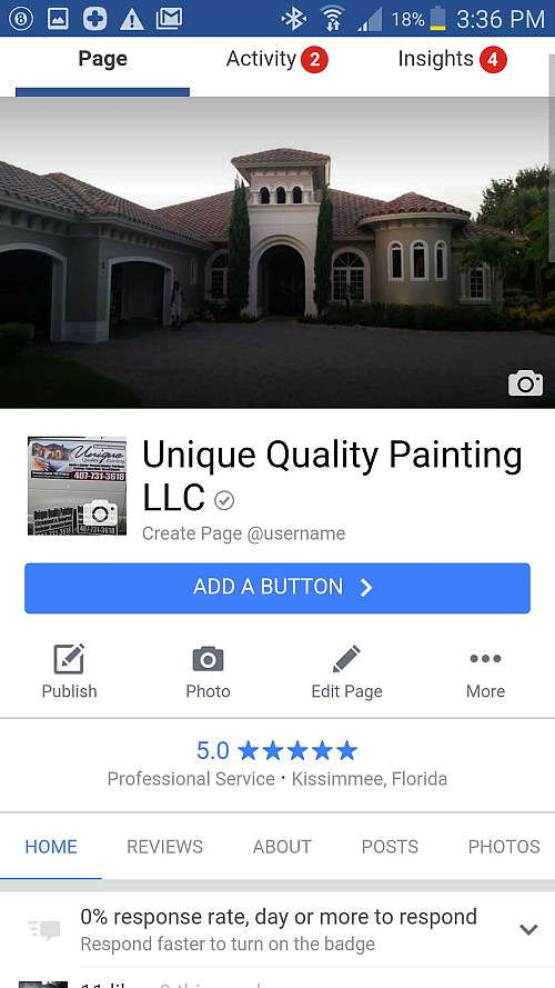 Unique quality painting llc networx for Garage door repair in kissimmee fl