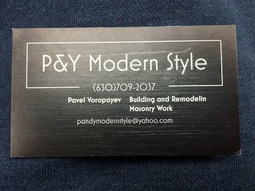 P Amp Y Modern Style Inc Aurora Il 60504 Networx