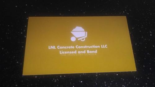 Lnl Concrete Construction Llc Networx