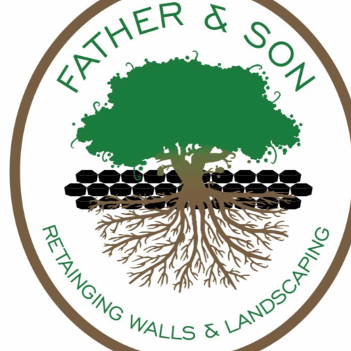 Father Amp Son Retaining Walls Amp Landscaping Company Denver
