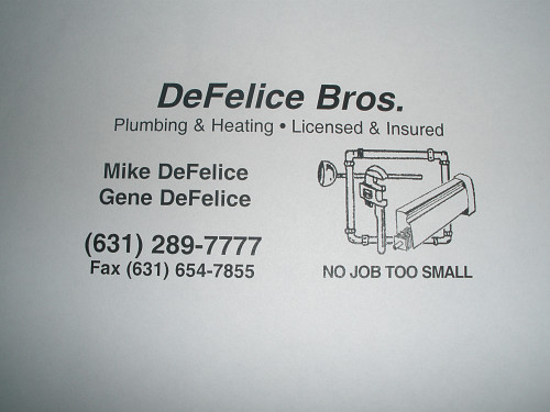 Defelice Bros Eastern Plg Amp Ht Corp Medford Ny 11763