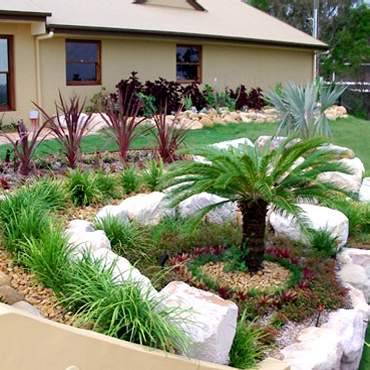 Rock garden design networx for Landscaping rocks adelaide