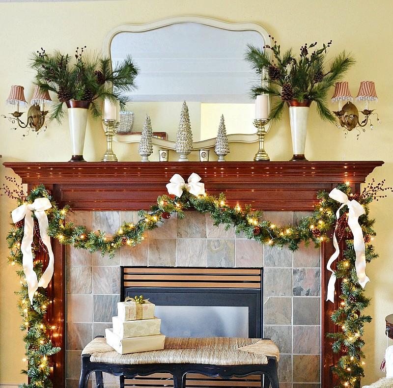 Traditional Mantel Decorating Ideas