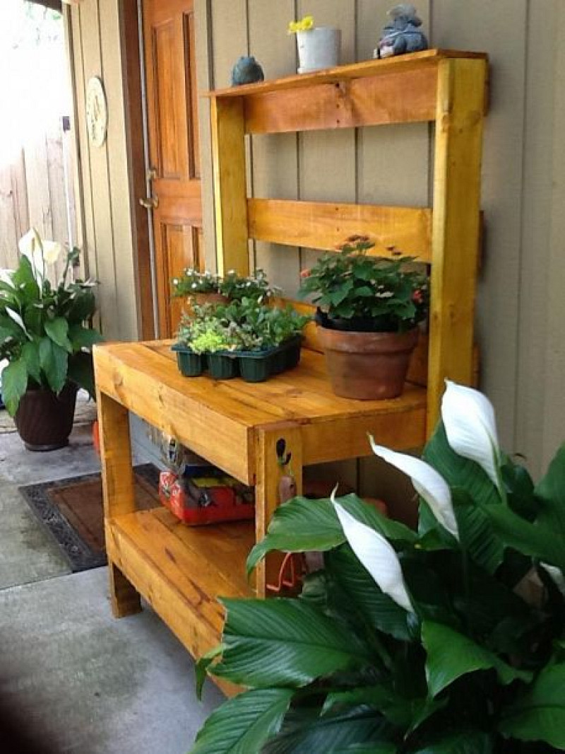 Upcycle Patio Table