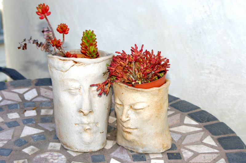 Planters That Look Like Heads Networx