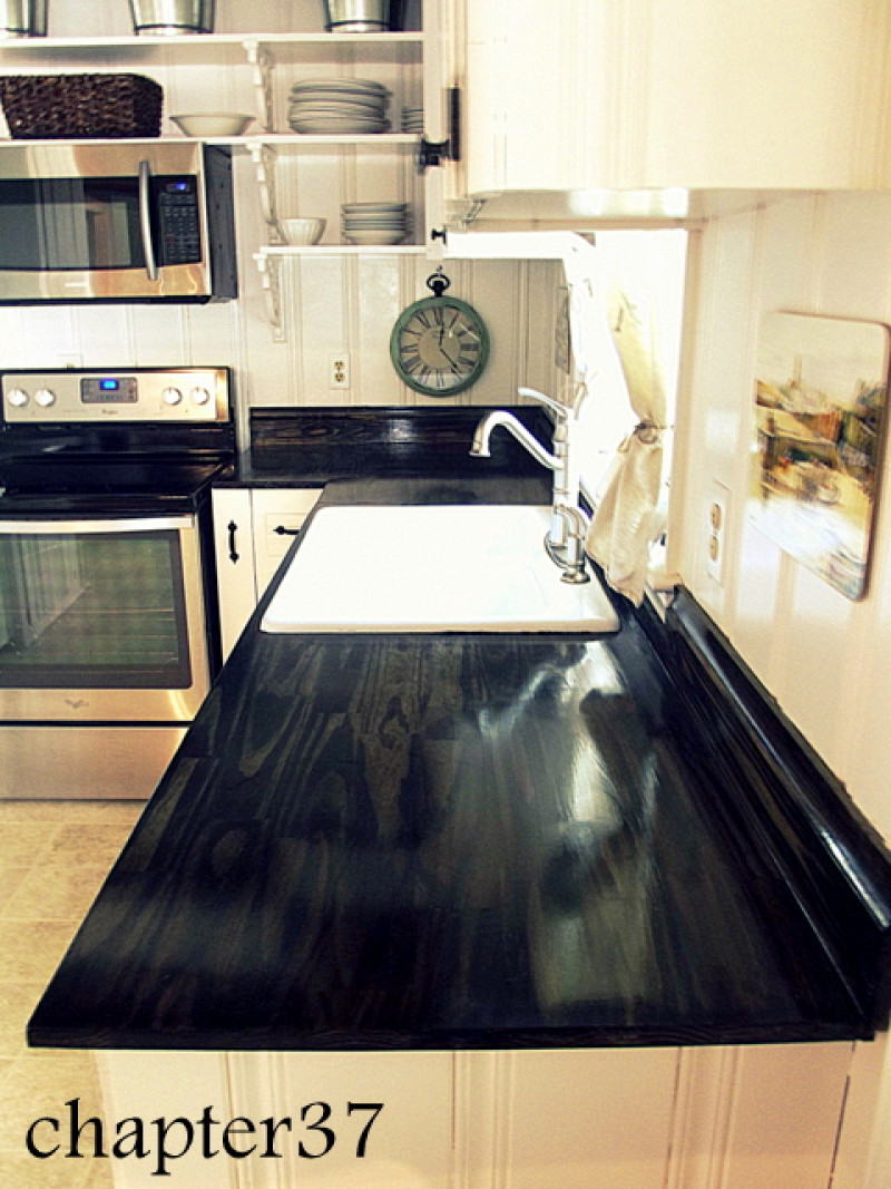 Black Granite Contact Paper For Countertop