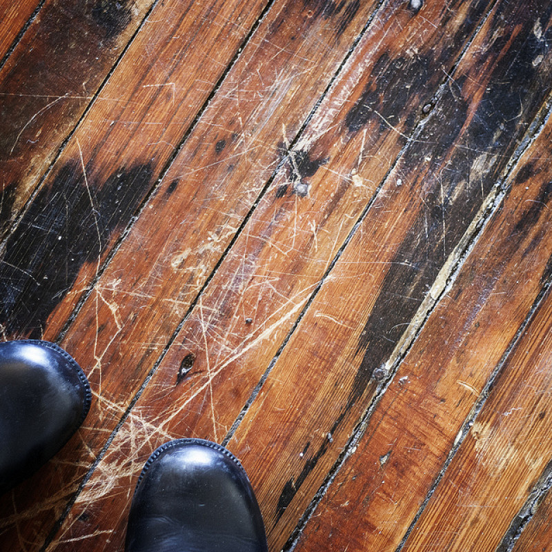 First Aid For Damaged Hardwood Floors