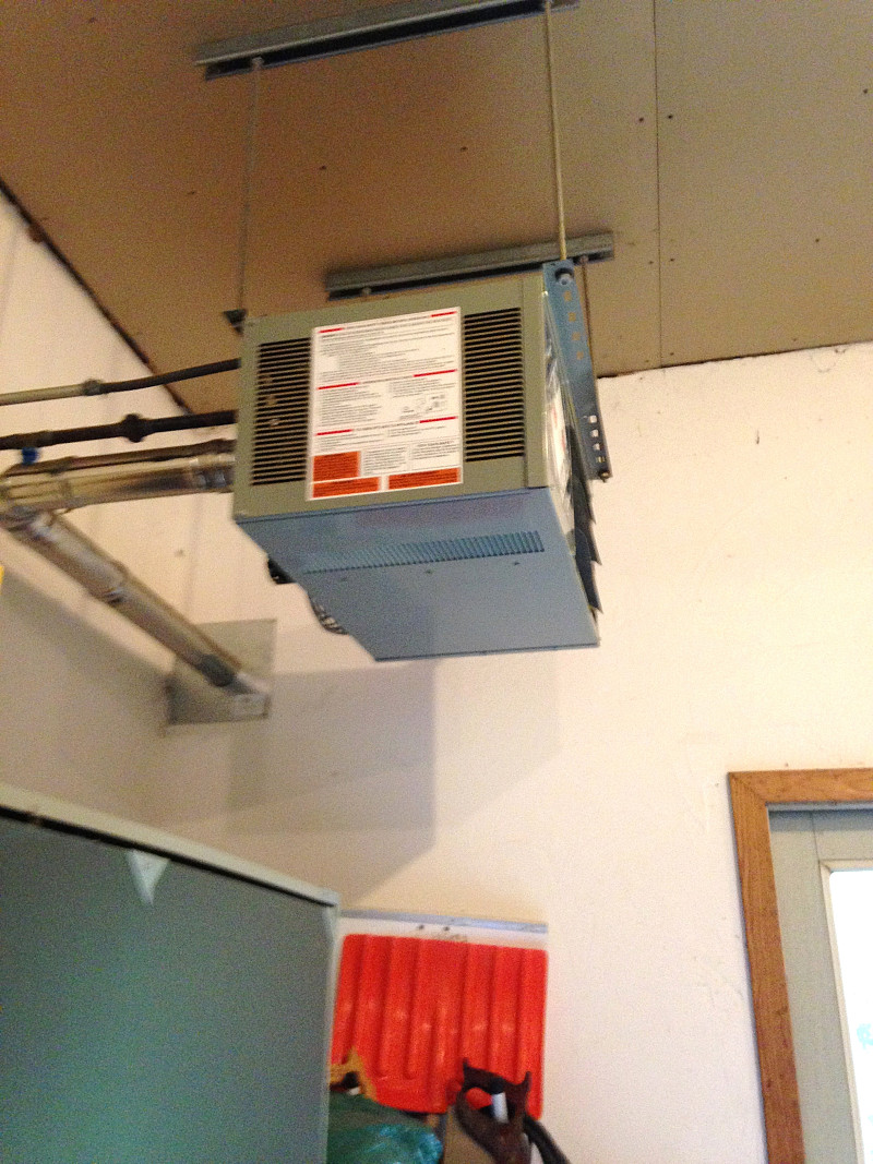 gas heater repair to prepare our garage for winter networx