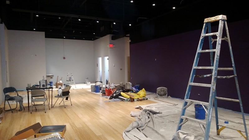 Interior Painting Of My New 1500 Square Foot Dance Studio