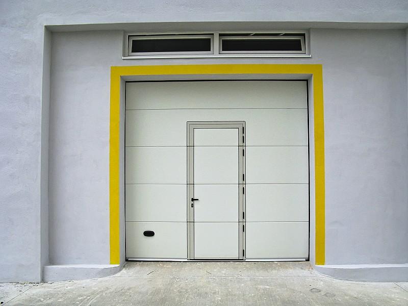 Pass Door In A Garage Door Networx