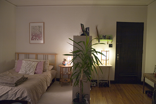 How to create private bedroom space in a small loft or - How to design a small bedroom ...
