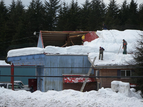 What To Do If Your Roof Collapses Due To Snow Networx