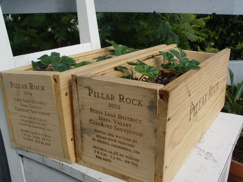 13 Uses For Wine Crates Networx