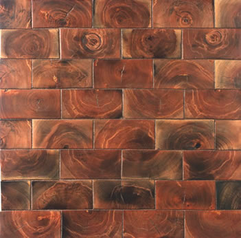 End Grain Hardwood Floor Tiles Networx