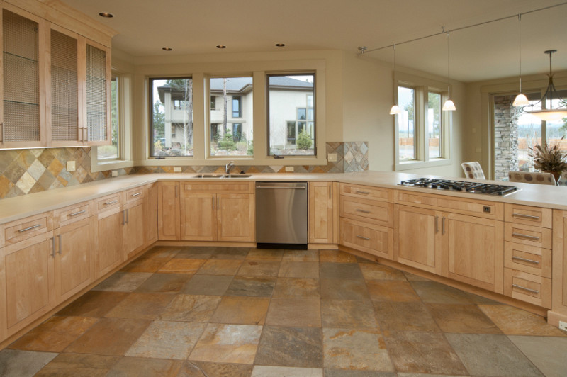 Kitchen floor tile ideas networx for Kitchen and floor tiles