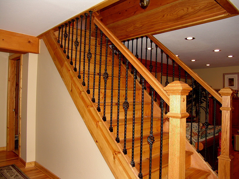 Iron Stair Baluster Installation Networx